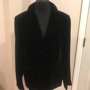 🎶Black Velvet look jacket
